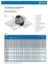 FTC Reifenkupplung – Standard Modellreihe FTC rubber coupling ...