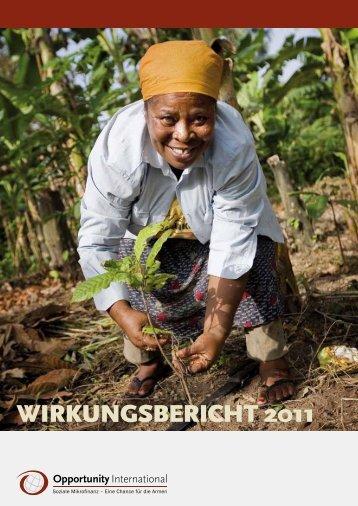 wirkungsbericht 2011 - Opportunity International Deutschland
