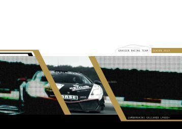 GRASSER RACING TEAM - SEASON 2013 LAMBORGHINI GALLARDO LP600+