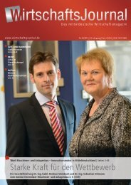 Ausgabe 03/13 - Wirtschaftsjournal