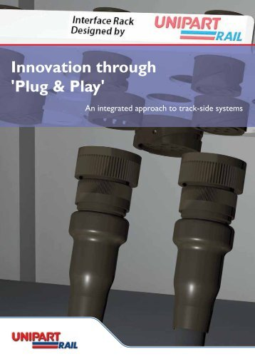 Download and Print our Plug & Play Brochure - Unipart Rail