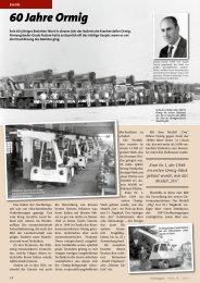 60 Jahre Ormig - Kranmagazin.de
