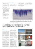 MIKROBIOLOGISCHE MESSUNGEN AN LUFTFILTERN - Wesco - Seite 4