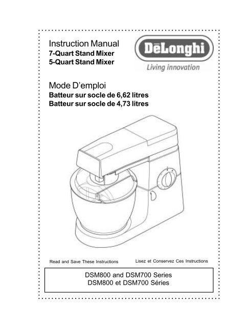 Instruction Manual Mode Demploi Smallappliancecom