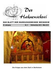 5- 01 Titel 2012 Krippe zu Bethlehem - Evangelische Gemeinde in ...