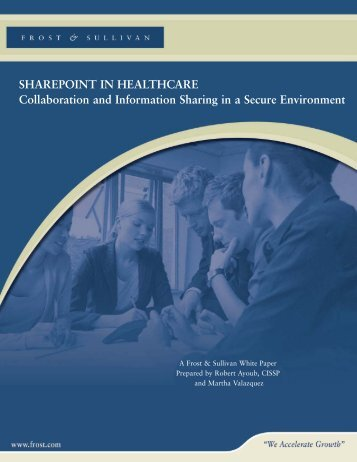 SHAREPOINT IN HEALTHCARE Collaboration and ... - Trend Micro
