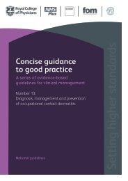 concise guidelines - British Association of Dermatologists