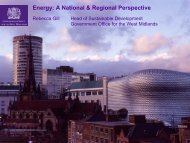 Energy: A National & Regional Perspective