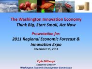 State of Innovation - Pacific County Economic Development Council