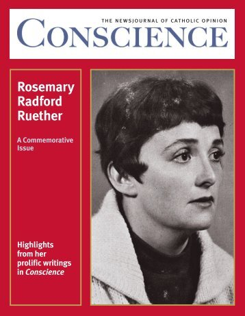 Rosemary Radford Ruether - Catholics for Choice