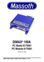 Dimax® 100A PC Module 8175001 - Champex-Linden