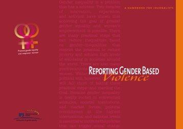 Reporting Gender Based Violence - IPS Inter Press Service