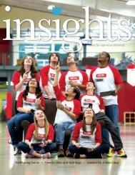 Insights Spring/Summer 2013 - Saint Martin's University