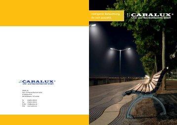 Intelligente Beleuchtung, die sich auszahlt. - Caralux LED