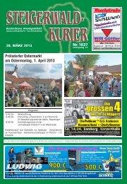 Ausgabe 1037 - Steigerwald-Kurier