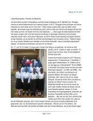 Sr. M. Ruthilde schreibt aus Mpala... - Schwestern Unserer Lieben ...