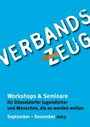 Verbandszeug 2-2013 - Jugendring Düsseldorf