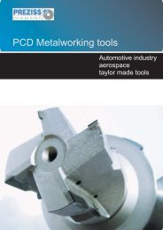 PCD milling cutters - PREZISS DIAMANT