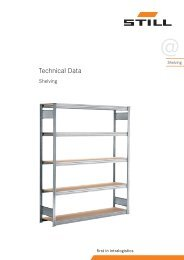 Specifications download (pdf) - Still GmbH