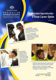 An Australian Apprenticeship
