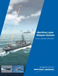 Maritime Laser Weapon System - Northrop Grumman Corporation