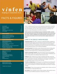 Helping To Transform Lives - Vinfen