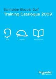 Training Catalogue 2009 - Schneider Electric