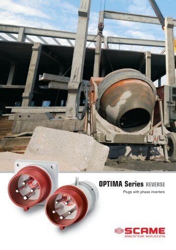 OPTIMA Series REVERSE - Scame Parre S.p.A.