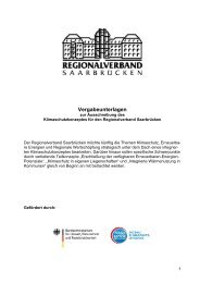 PDF Ausschreibung Klimaschutzkonzept - Regionalverband ...