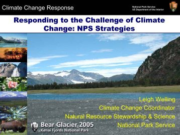 Responding to the challenge of climate change