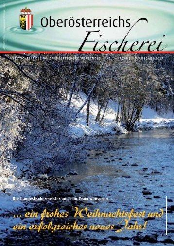 Ausgabe 3/2013 - Oberösterreichischer Landesfischereiverband