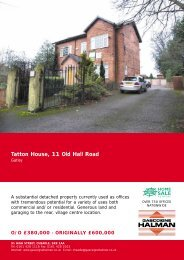 Tatton House, 11 Old Hall Road