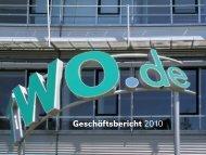 Geschäftsbericht 2010 - TWO.de Technische Werke Osning GmbH