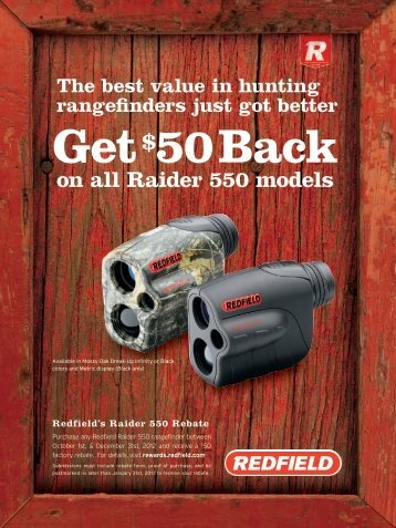 on all Raider 550 models - MidwayUSA