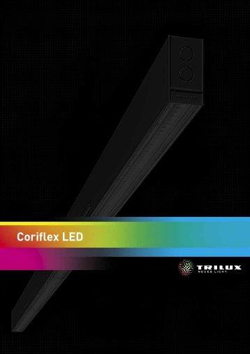 Coriflex LED Broschüre