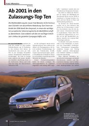 AP Sonderausgabe FORD MONDEO 2000 - Pharma+Food