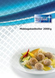 Middagskødboller 2000g - TOP FOOD A/S
