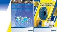 informations techniques pneus GC et TP - Conseils Michelin pour le ...