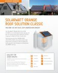 olarwatt orange solutions - Solarwatt - Seite 6