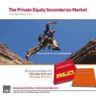 The Private Equity Secondaries Market - PEI Media