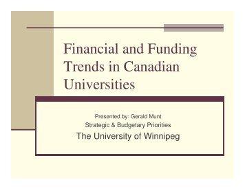 Gerald Munt - University of Winnipeg