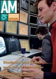 Studium – und dann? TITELTHEMA Seite 04 Studium – und ... - KV
