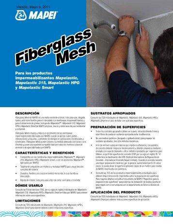 Fiberglass Mesh Fiberglass Mesh - Mapei