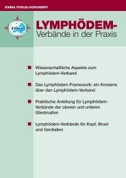 Lymphödem-Verbände in der Praxis - EWMA
