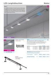 LED-Langfeldleuchten Modus