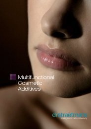 Multifunctional Cosmetic Additives - Kinetik