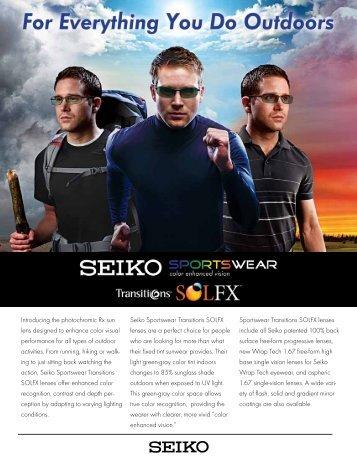 SEIKO Internal Free-Form Lenses - Robertson Optical Laboratories