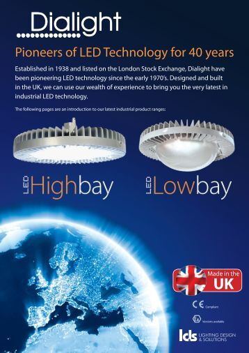 Pioneers of LED Technology for 40 years - WF Senate