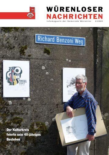 Würenloser Nachrichten 2/2009 - Gemeinde Würenlos