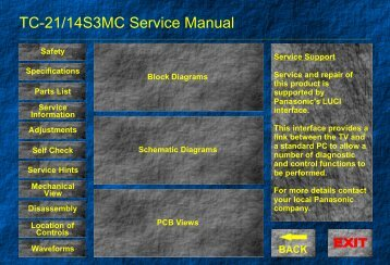 TC-21/14S3MC Service Manual - Page de test